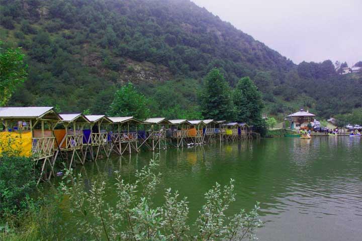 دریاچه قو جواهرده رامسر