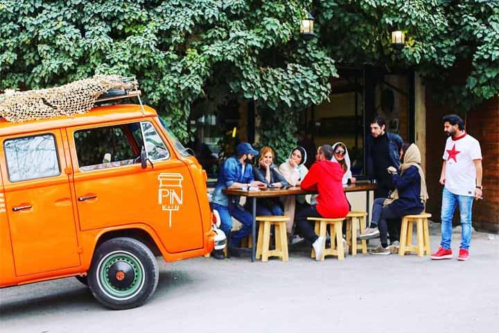 کافه های تهران - پین کافه
