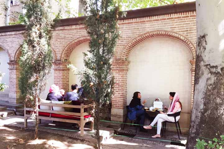 کافه های تهران - چای بار