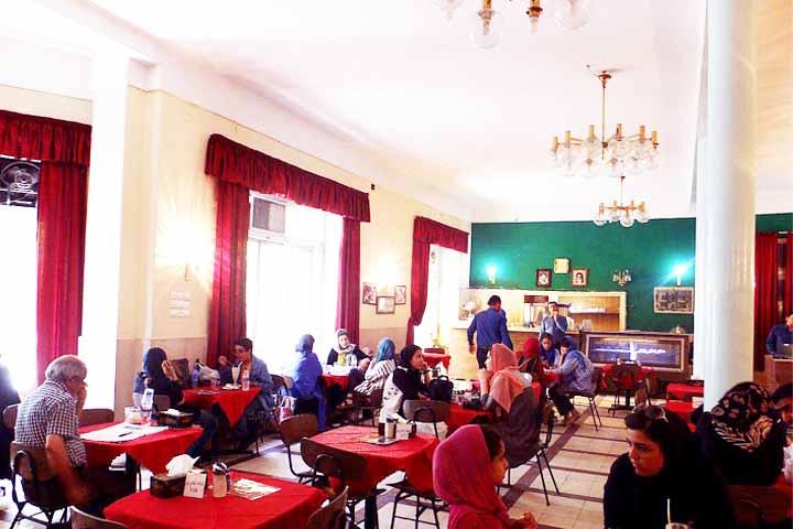 کافه های تهران - کافه نادری
