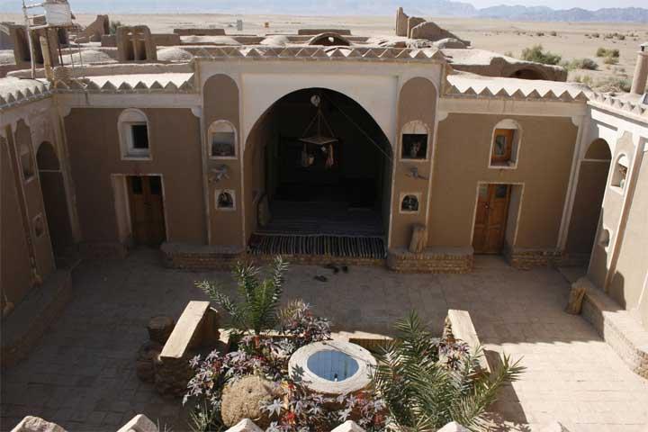 اقامتگاه های سنتی کویر مصر