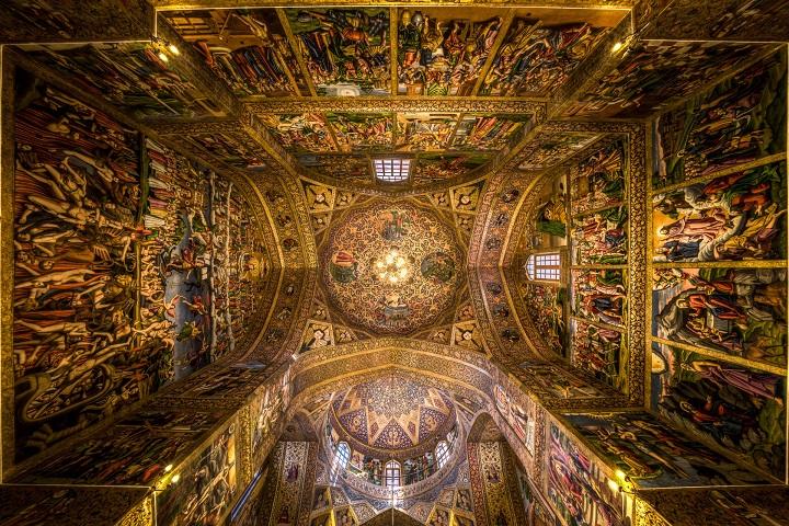 مکانهای دیدنی اصفهان کلیسای وانک