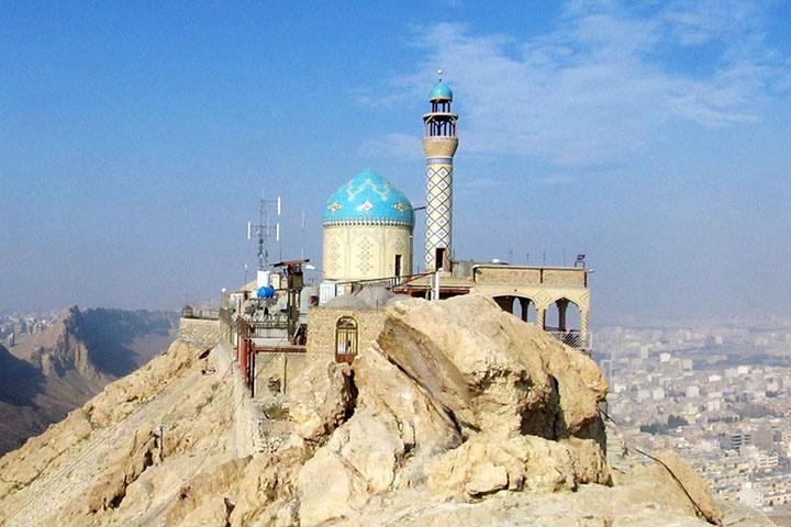 کوه خضر نبی | جاهای دیدنی قم