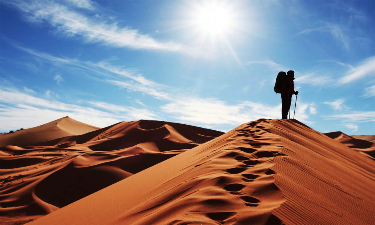 کویر مصر ، خیلی دور، خیلی نزدیک