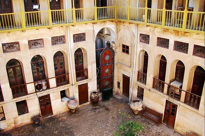 عمارت گلشن از دلنشین ترین جاهای دیدنی بوشهر