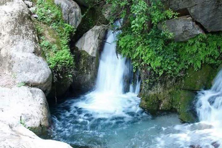 آبشار خامی باشت | جاهای دیدنی یاسوج