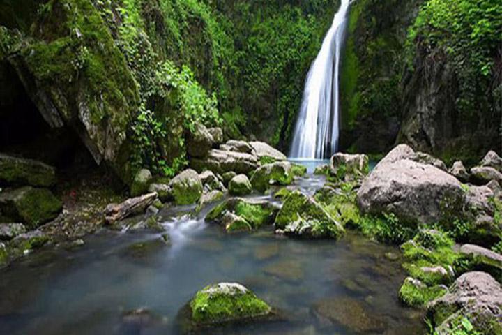 آبشار رنگو | جاهای دیدنی گرگان