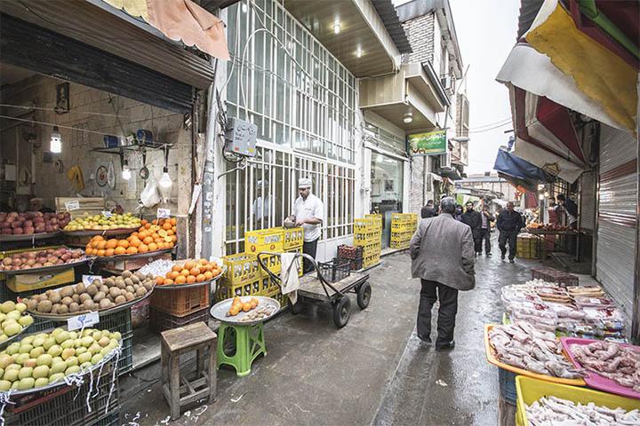 بازار نعلبندان | جاهای دیدنی گرگان