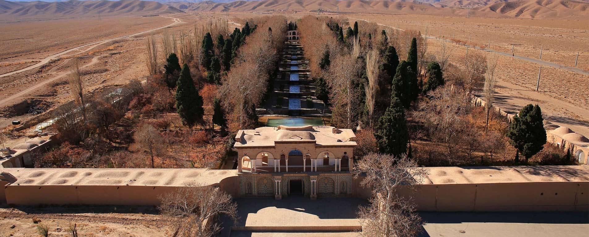 باغ شاهزاده ماهان ، روح سبز زندگی در رگهای کویر کرمان
