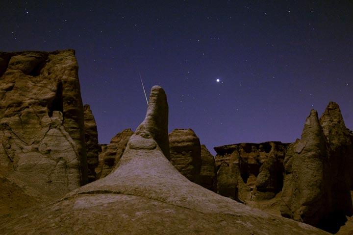 تماشای آسمان پرستاره |دره ستارگان قشم