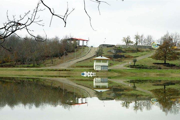 طبیعت دریاچه سقالکسار