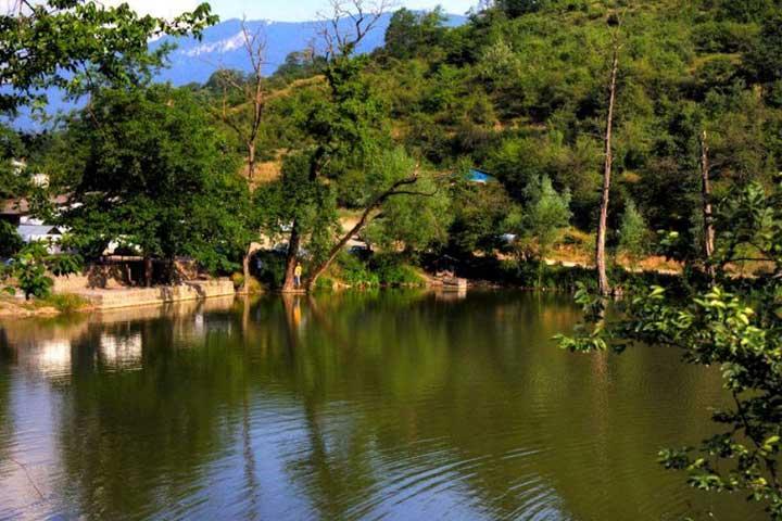 دریاچه شورمست |هدیه طبیعت