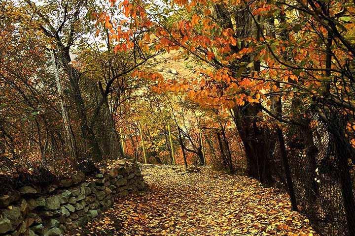 ییلاق های اطراف تهران | جاهای دیدنی اطراف تهران و حومه در پاییز
