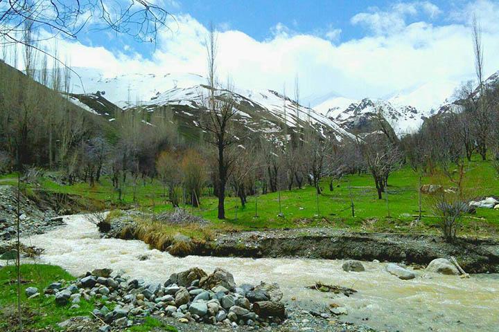 روستای کرکبود | روستاهای اطراف تهران