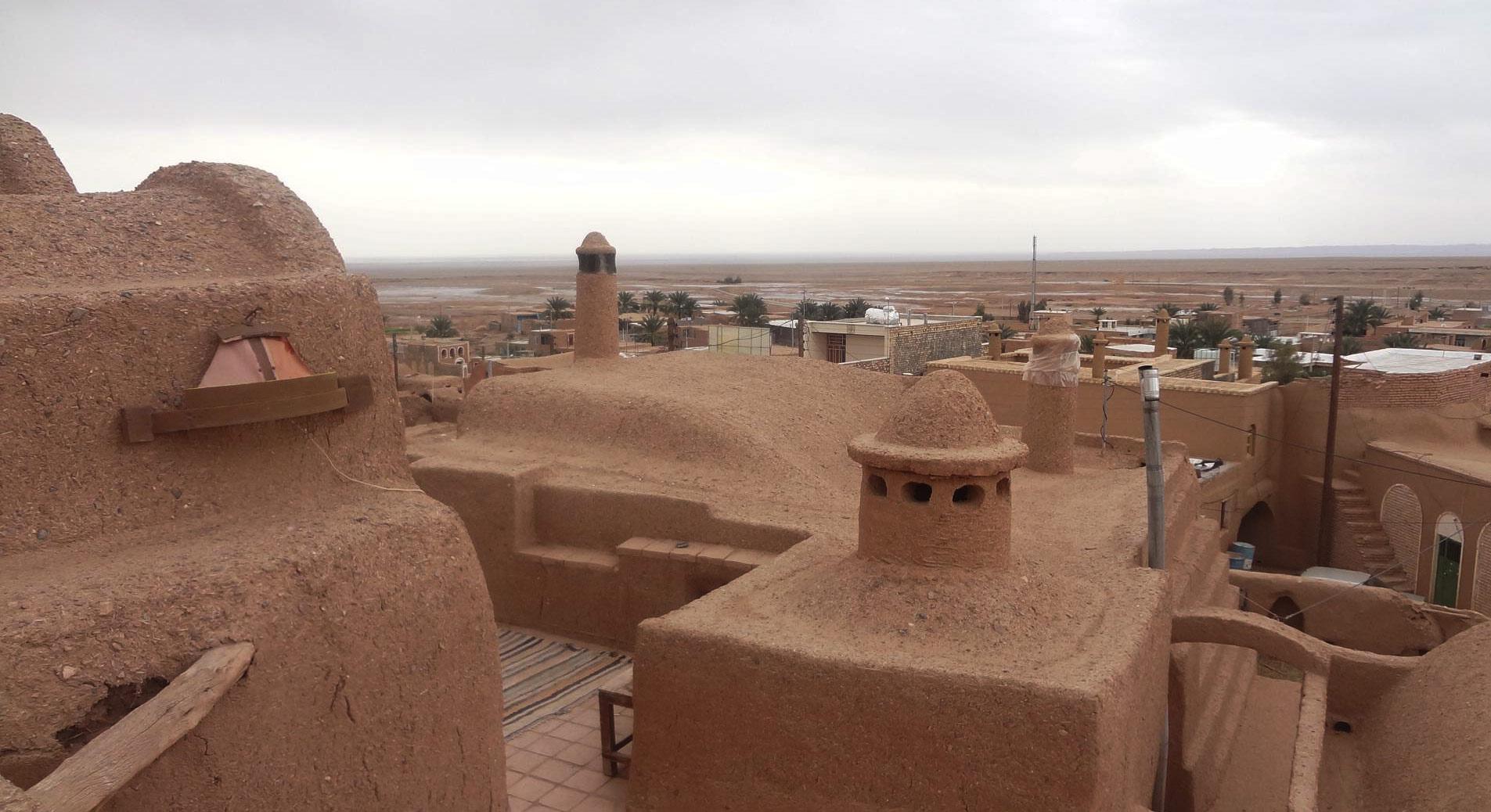 روستای گرمه ، هم آسمان زیبای کویر مصر