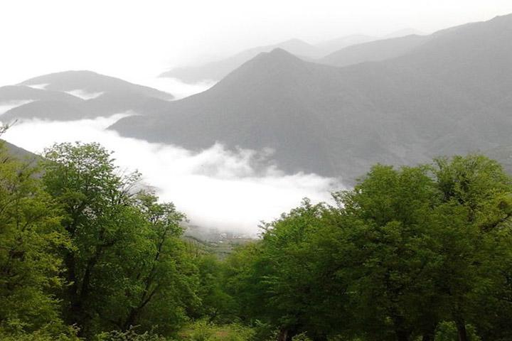 طبیعت سردانسر | جاهای دیدنی گرگان