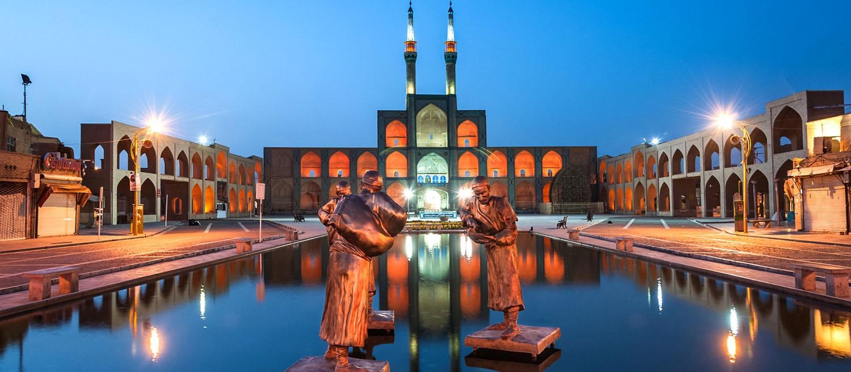 مسجد امیرچخماق ؛ بنایی پرشکوه در میدانی تاریخی