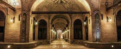 کاروانسرای سعد السلطنه قزوین شاخص
