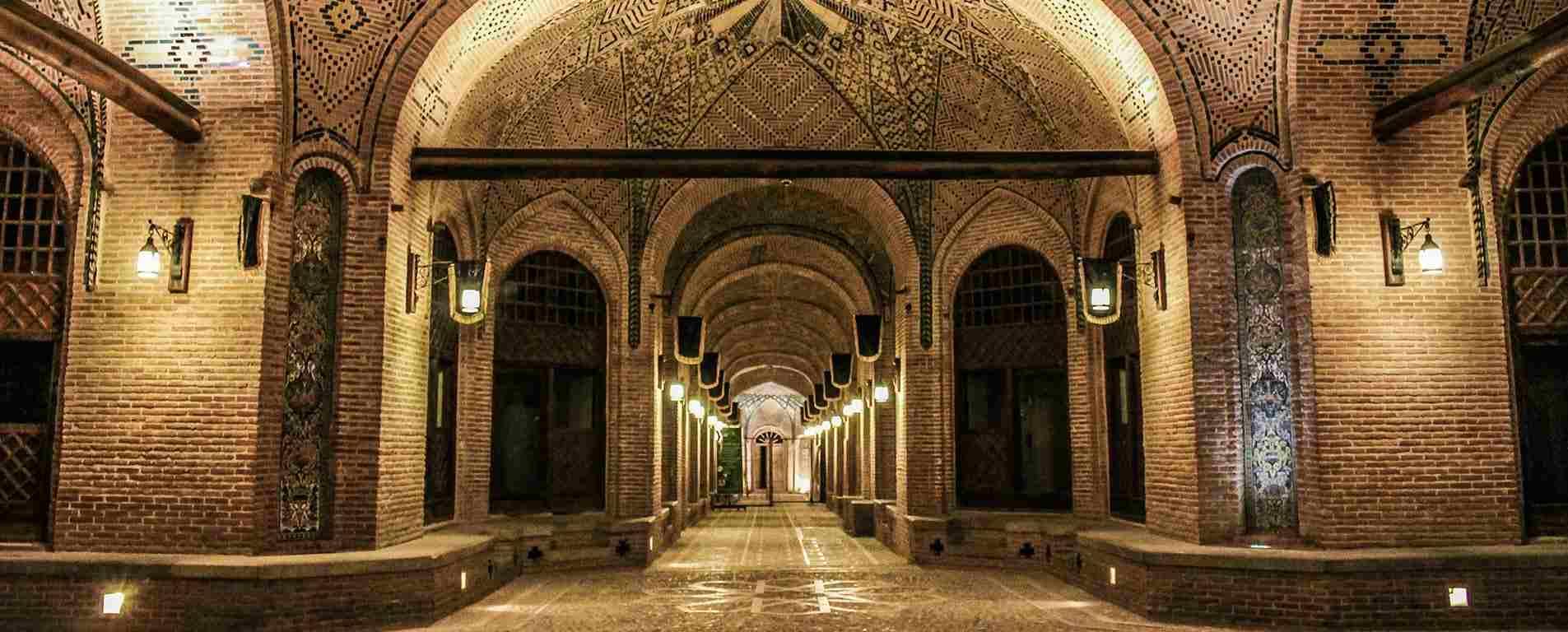 کاروانسرای سعد السلطنه ، بزرگترین کاروانسرای شهری جهان