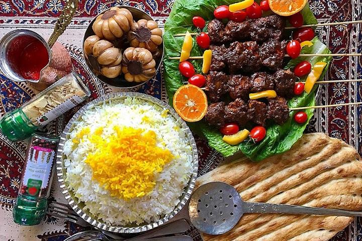 کباب ترش | غذاهای محلی گیلان