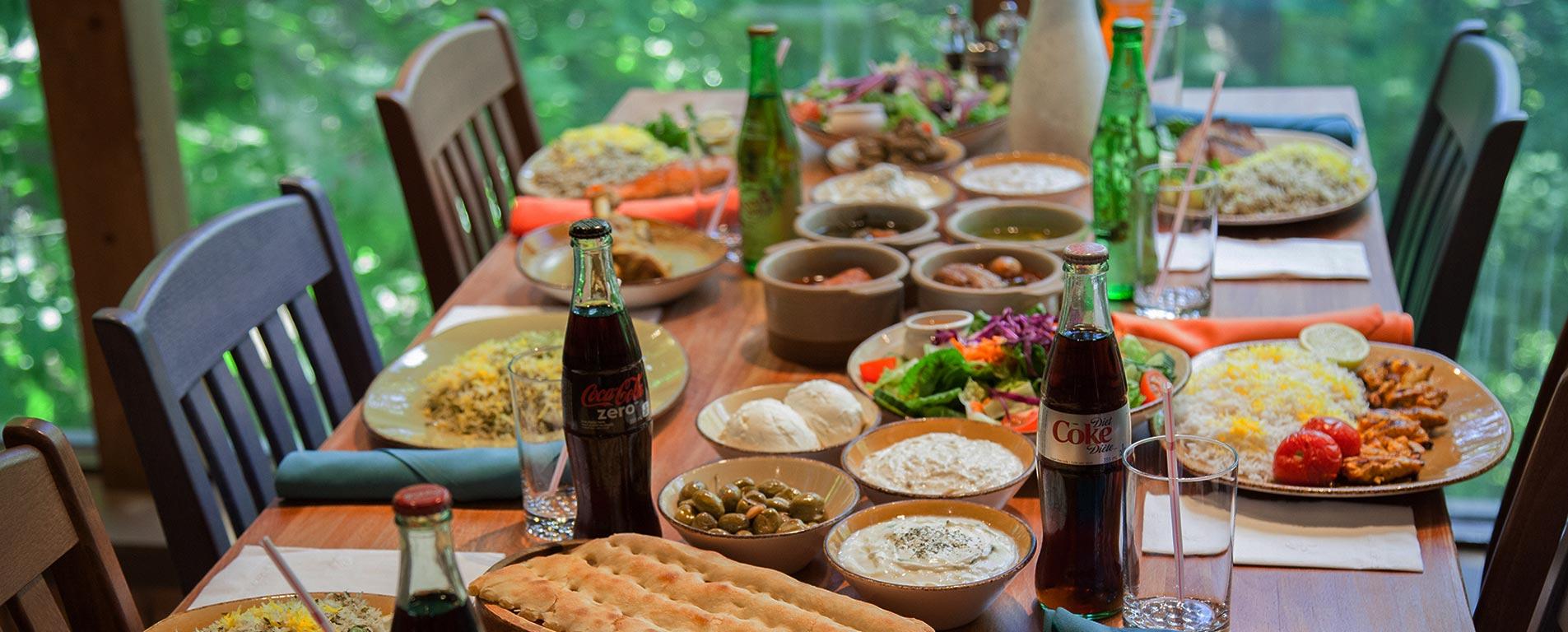 غذاهای محلی گیلان ، تجربه شکم گردی در بام سبز ایران