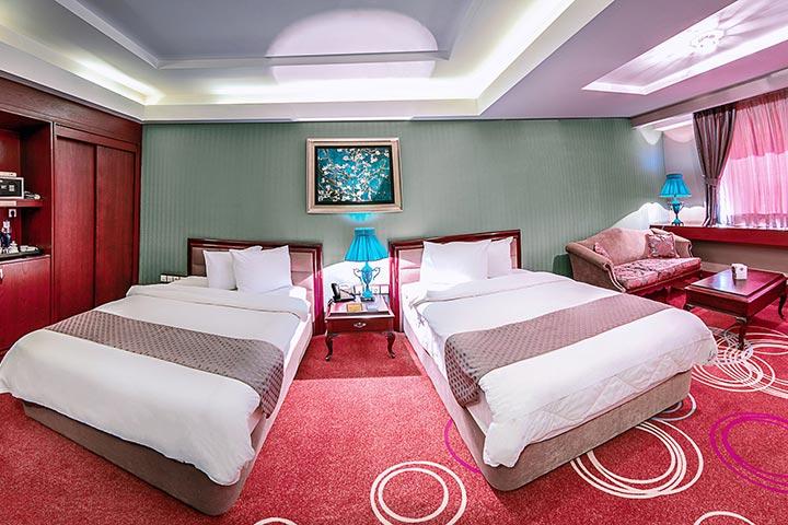 اتاق های هتل بزرگ شیراز