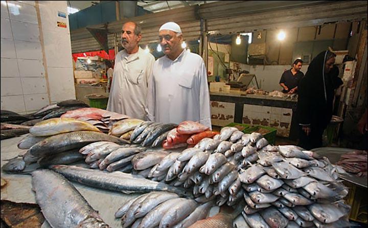 بازار ماهی فروشان | بازارهای آبادان