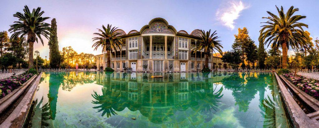 باغ ارم شیراز ، قدرت گرفته از بهشت