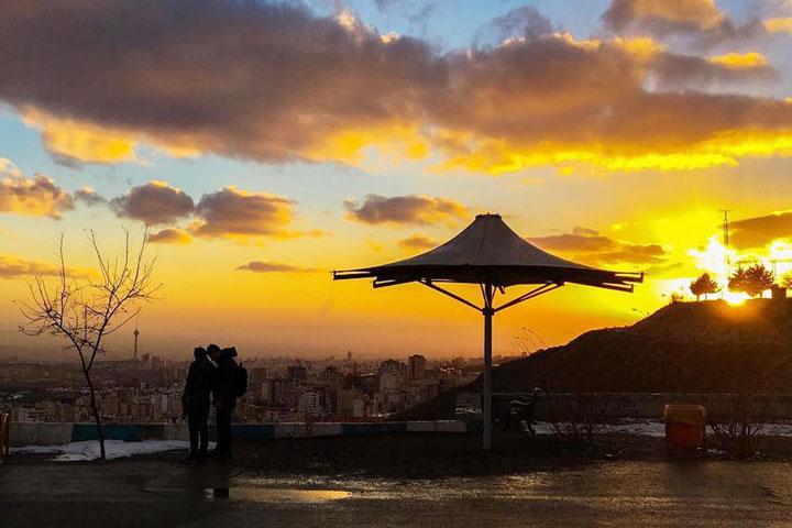 بام تهران | مکان های تفریحی تهران