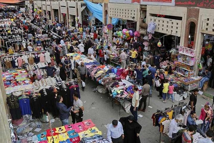 ته لنجی آبادان | بازارهای آبادان