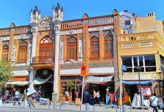 خیابان ناصر خسرو - شاخص