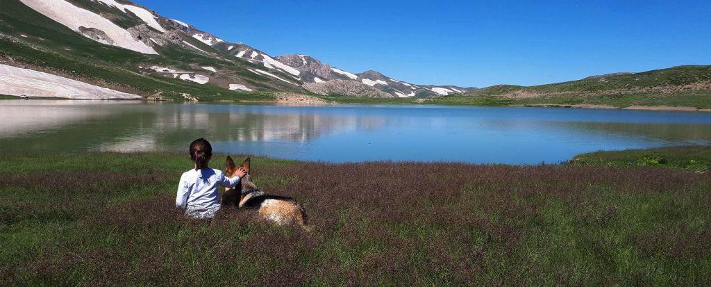 دریاچه دالامپر ؛ بهشت بدون مرز