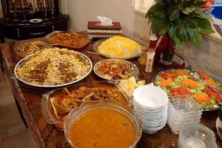 رستوران شام ایرانی | رستوران های شیراز