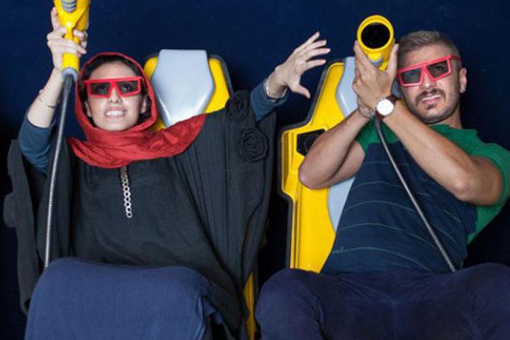 سینمای ۷ بعدی پارک آب و آتش   مکان های تفریحی تهران