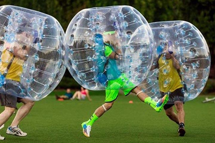 فوتبال حبابی باملند