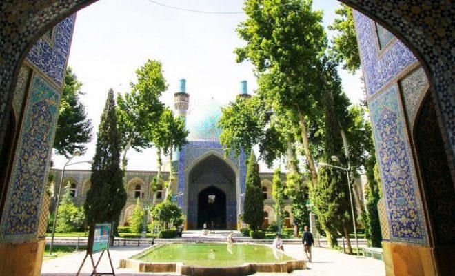 مدرسه چهار باغ اصفهان - شاخص