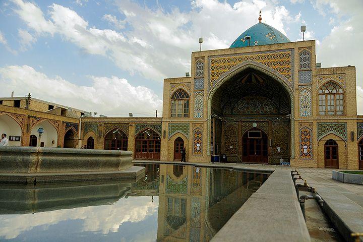 مسجد جامع زنجان ، بنایی از خاندان فتحعلی شاه