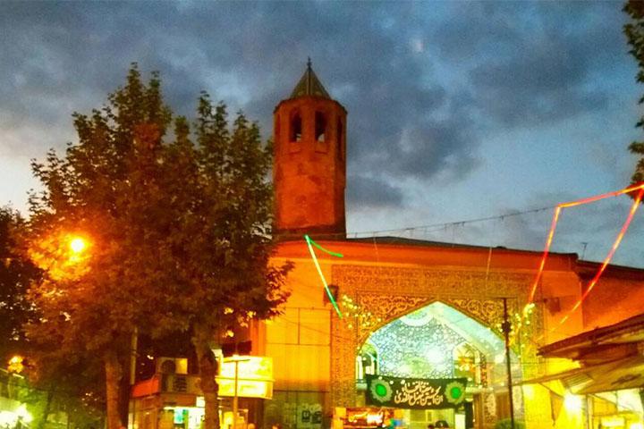 مسجد جامع لاهیجان | جاهای دیدنی لاهیجان