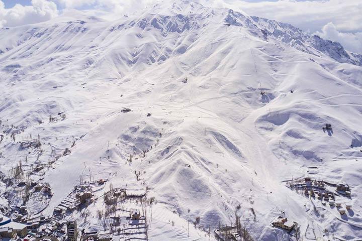پیست اسکی شمشک | از جاهای تفریحی تهران