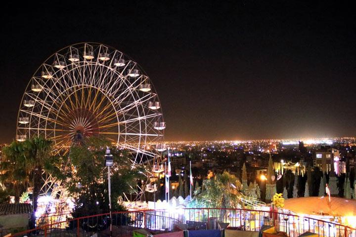 لونا پارک | از مراکز تفریحی شیراز