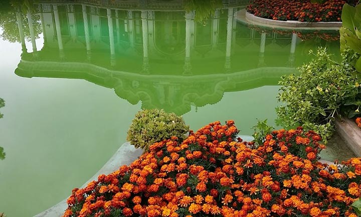 معماری عمارت شاپوری شیراز بسیار زیباست