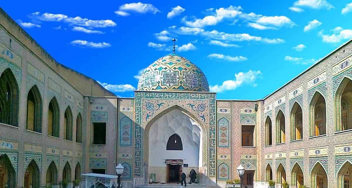 آرامگاه پیر پالاندوز ، عارفی که همسایهی امام رضا(ع) است