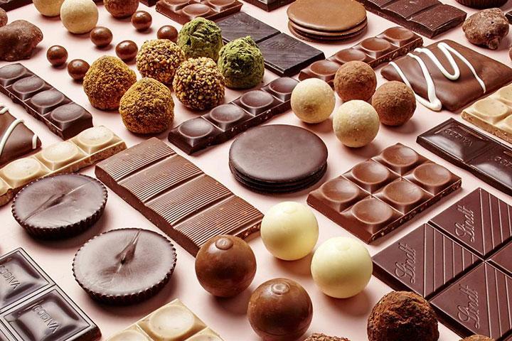 شکلات، خوشمزهترین سوغات کیش