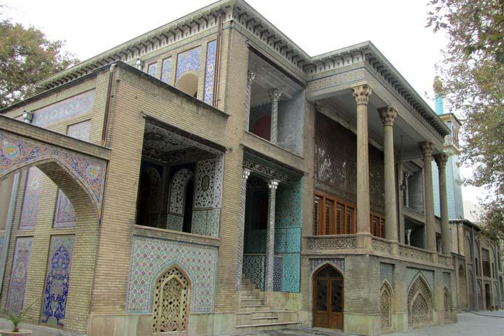 عمارت بادگیر کاخ گلستان تهران