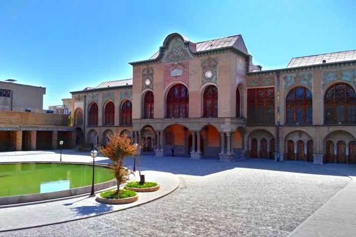 عمارت مسعودیه | از جاهای دیدنی تهران