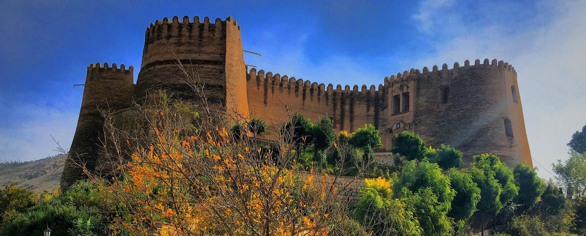 قلعه فلک الافلاک ، ترکیبی از شکوه و راز در معماری ساسانیان