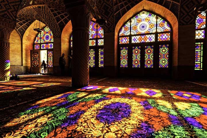 مسجد نصیر الملک ارزنده ترین مسجد ایران