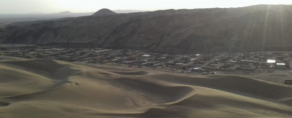 کویر رضا آباد ، رویای دلانگیز تپههای ماسهای