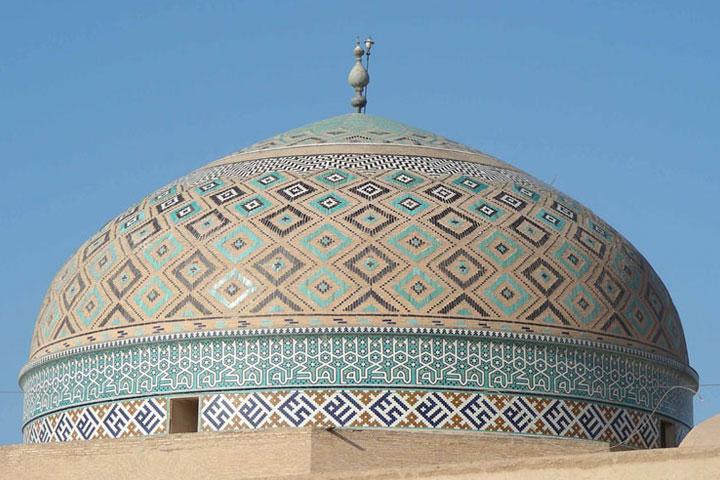 گنبد مسجد جامع یزد
