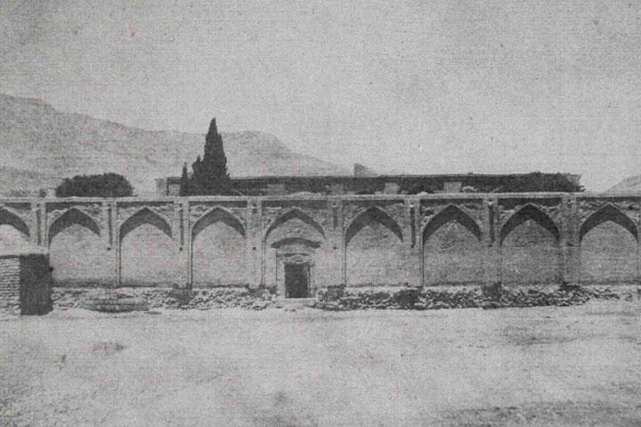 آرامگاه سعدی در دوران قاجار